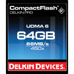 Delkin Devices 64GB CompactFlash Memory Card Pro 450x UDMA