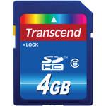 Transcend 4GB SDHC Memory Card Class 6