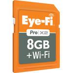 Eye-Fi 8GB SDHC Memory Card Pro X2 Wireless Class 6