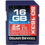 Delkin Devices 16GB SDHC Memory Card Pro Class 10