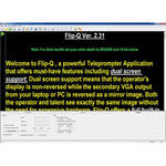 Prompter People Flip-Q Prompting Software Pro Upgrade
