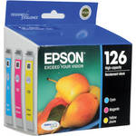 Epson T126520 126 High-Capacity Color Ink Cartridge Multi-Pack