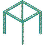 Global Truss Global Truss TR-10x10 Triangular Booth