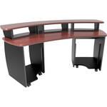 Omnirax OmniDesk Audio / Video Workstation (Mahogany)