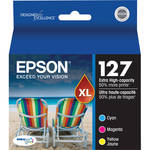 Epson T127520 127 Extra High-Capacity Color Ink Cartridge Multi-Pack