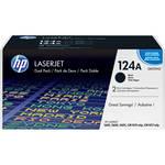HP Color LaserJet Q6000AD Black Print Cartridge Dual Pack