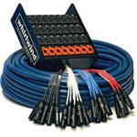 Whirlwind Medusa Standard 24x XLR Send/8x XLR Return Stagebox to Fanout Snake (250')