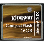 Kingston 16GB CompactFlash Memory Card Ultimate 600x