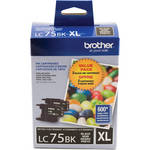 Brother LC752PKS Innobella High Yield XL Black Ink Cartridge 2-Pack