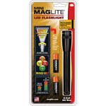 Maglite Mini Maglite 2AA LED Flashlight with Holster (Black, Clamshell)
