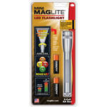 Maglite Maglite Mini Maglite LED 2AA Flashlight with Holster (Grey)