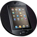 Pyle Pro iPod/iPhone/iPad Touch Screen Dock with FM Radio & Alarm (Black)