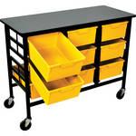 H. Wilson C123D9-PY Bin Workstation/Storage Unit