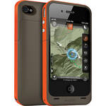 mophie juice pack plus Outdoor Edition Battery Extender for iPhone 4/4S (Orange)