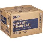"DNP 6.0 x 8.0"" Print Pack for DNP DS-40 Digital Photo Printer"