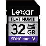 Lexar 32GB SDHC Memory Card Platinum II Class 10