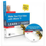 Pearson Education Book & DVD: Make Your First Video with iMovie 11: Learn by Video