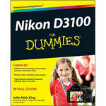 Wiley Publications Book: Nikon D3100 For Dummies