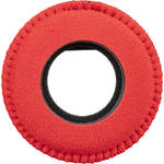 Blue Star Round Extra Small Microfiber Eyecushion (Red)