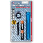 Maglite AA Mini Maglite Flashlight Combo Pack (Blue)