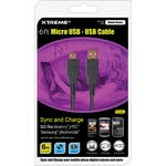 Xtreme Cables USB (A) to USB Micro (B) Cable - 6'