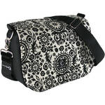 Capturing Couture Penelope Collection: Penelope Night Camera Bag (Black Floral)