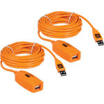 Tether Tools 2 x 16' (4.88 m) TetherPro USB 2.0 Active Extension Cables
