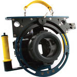 Beneath the Surface Large Pivot Tray with Yellow Grip Handles for Sea & Sea and Nauticam Underwater DSLR Camera Housings