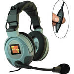Eartec Max3G Double Headset with Inline PTT