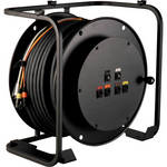 TecNec RA4V2-HD250PL HD Broadcast AV Cable Reel with Connectorized Hub (250')