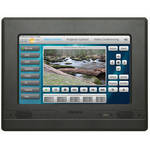 Aurora Multimedia NXT-1010V Touch Panel In-Wall Controller With Video Preview (Black)
