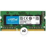 Crucial CT102464BF160B 16GB (2 x 8GB) 204-pin SODIMM, DDR3 PC3-12800 Memory Module B&H Kit