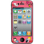 iLuv Snoopy Deco Film - Protective Film With Peanuts Design for iPhone 4S / 4 (Pink)