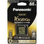 Panasonic 16GB SDHC Memory Card Gold Series Class 10 UHS-I