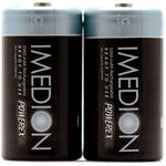 """Powerex MHRCI2 IMEDION """"Ready When You Are!"""" Rechargeable C NiMH Batteries (1.2V, 5000mAh) - 2-Pack"""