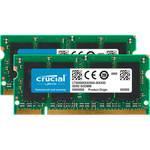 Crucial 4GB (2 x 2GB) 200-pin SODIMM DDR2 PC2-6400 Memory Module Kit for Mac