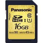 Panasonic 16GB SDHC Memory Card Gold Series Class 10 UHS-1