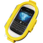 Aryca Whirl Waterproof Push Button Phone Case (Yellow)