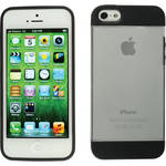Xuma Hybrid Case for iPhone 5 & 5s (Clear)