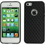 Xuma Patterned Flex Case for iPhone 5 & 5s (Black Edges / Black Rear)