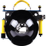 Beneath the Surface Large Pivot Tray with Yellow Grip Handles for Ikelite Underwater DSLR Camera Housings