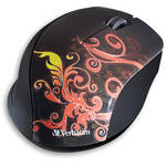 Verbatim Wireless Optical Design Mouse (Burnt Orange)