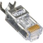 Platinum Tools 100023C EZ-RJ45 Shielded CAT5e/6 Connector (Clamshell of 10)