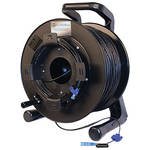 Tactical Fiber Systems Single-Mode Two-Fiber Cable on Reel with LC Connectors (1250 ft)