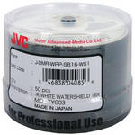 JVC DVD-R 4.7 GB Glossy White Inkjet Recordable Discs (Spindle Pack of 50)
