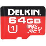Delkin Devices 64GB 375X microSDXC Memory Card (Class 10)