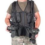 THE VEST GUY Urban 5 Mesh Photo Vest (Large, Black)