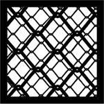 """Chimera Chain 2 Urban Series Window Pattern 16 x 16"""""""