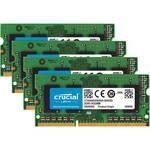 Crucial 32GB (4 x 8GB) 204-Pin SODIMM DDR3 PC3-12800 Memory for Mac (B&H Kit)