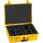 Pelican 1524 Waterproof 1520 Case with Padded Dividers